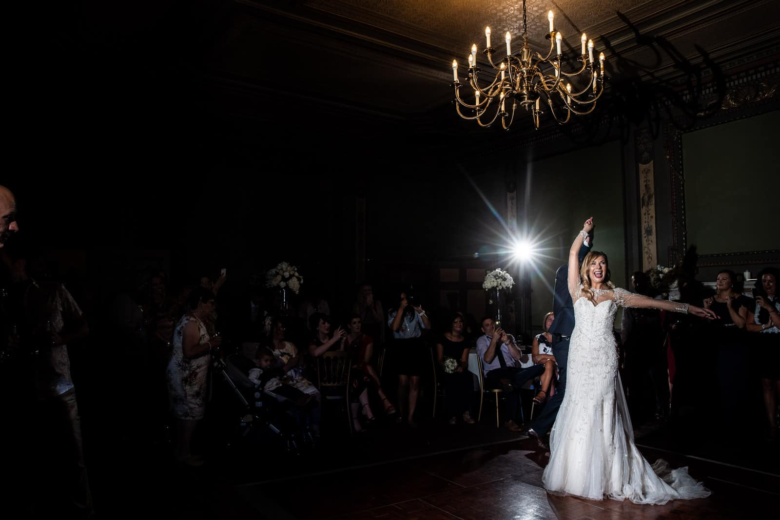 First dance at delapre abbey