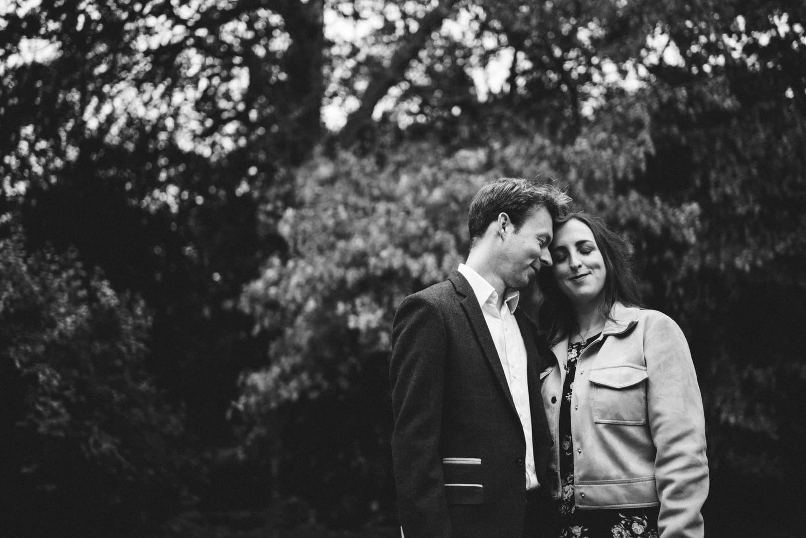 Engagement Photography of a couple at Delapre Abbey