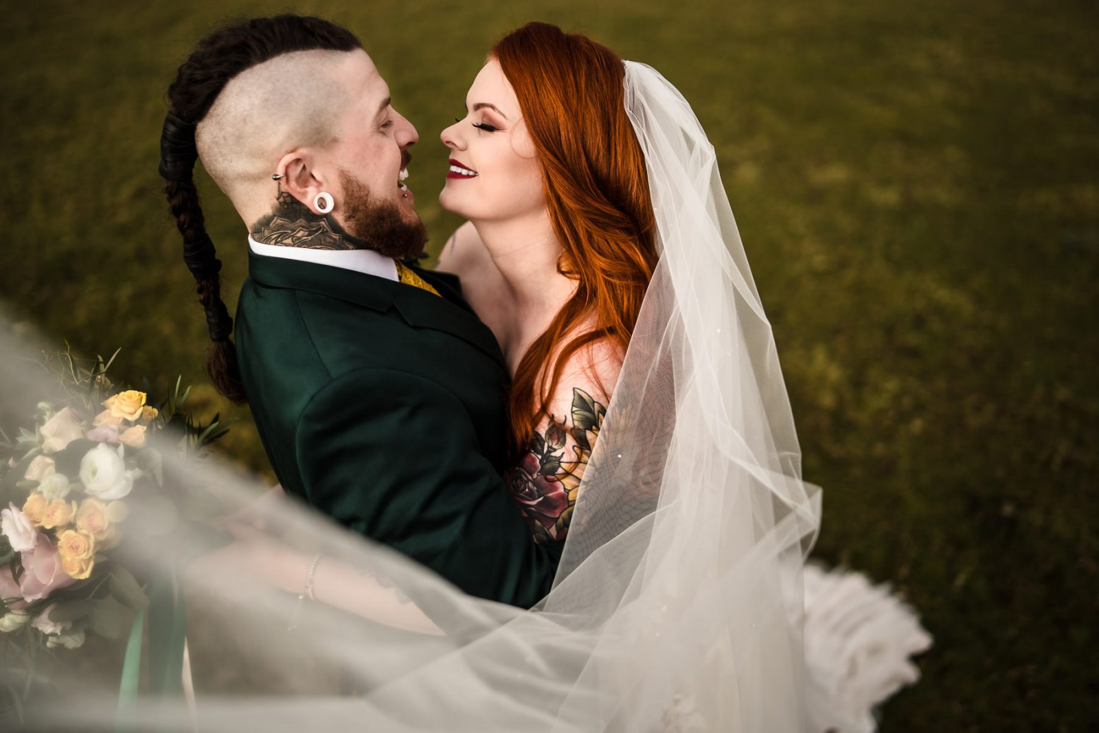 Alternative Wedding photographer Northamptonshire